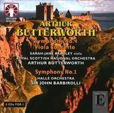 Arthur Butterworth: Symphony Nos. 1 & 4; Viola Concerto [CD]