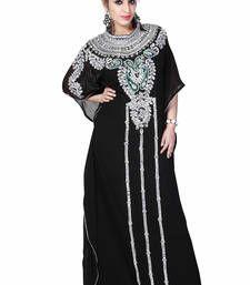Buy black kaftan islamic dress  Reaymade Abaya online