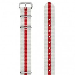 England 18mm Grosgrain Watch Strap