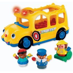 like it 6 Fisher Price Little People Lil Movers School Bus