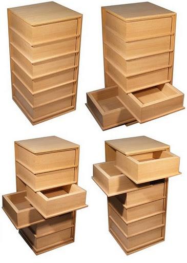 multi side drawers