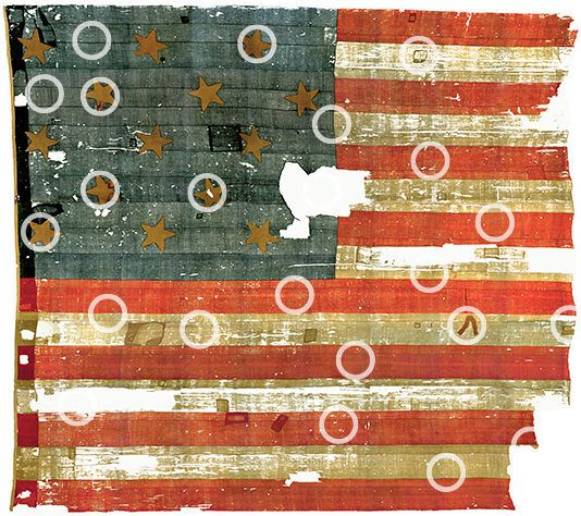 Interactive sight from the Smithsonian to learn about the history of the flag... I will be using this in the fall!