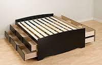 Image result for høj seng 160 cm med opbevaring