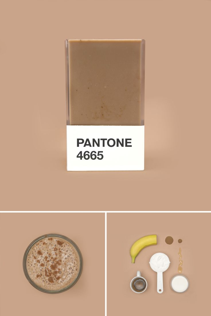 color and culinary themes collide for pantone smoothie series
