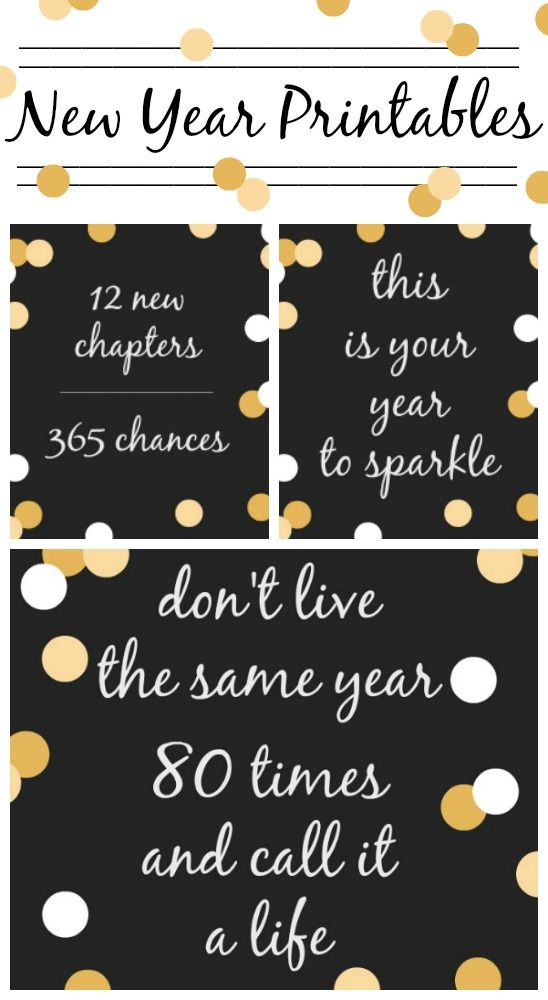 New Year Printable Quotes to Start 2017 Right via @domesticallyspeaking