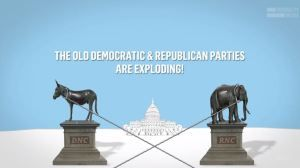 We have two parties but its not the Democratic & Republican Parties