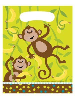 Monkey Uitdeelzakjes