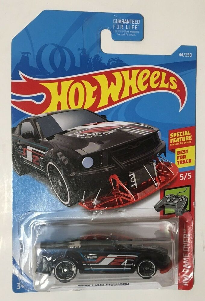 2019 Hot Wheels 5 5 2005 Ford Mustang Diecast Toy New Hotwheels