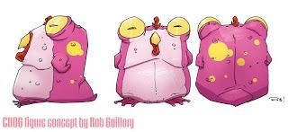 Angry Koala Gear: Chew Comic Series Fans Should Pick Up Their Chog Vinyl Figures! We Love Them!
