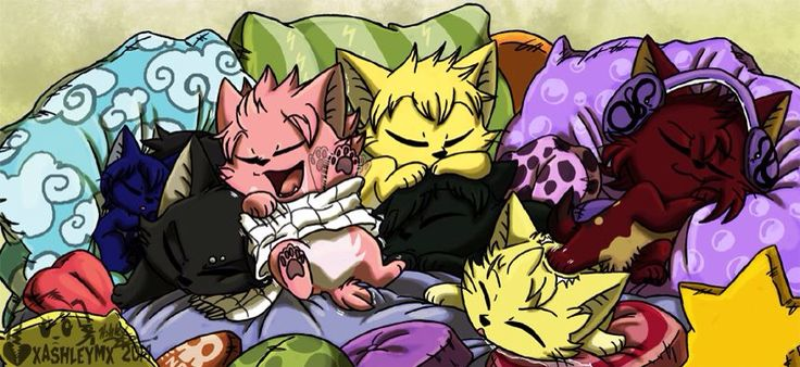 OMG THIS IS THE CUTEST THING EVER!!!!!!!!!!!!! I LOVE HOW LITTLE WENDY IS CURLED UP NEXT TO GAJEEL!!!!!!!!!!!!!!!!!!!! COULD HARDLY TELL WHITCH ONE WAS STING AND WHICH ONE WAS LAXUS!!!!!!!!!!!! TOO CUTE >~< ||Fairy Tail Dragon Slayers||