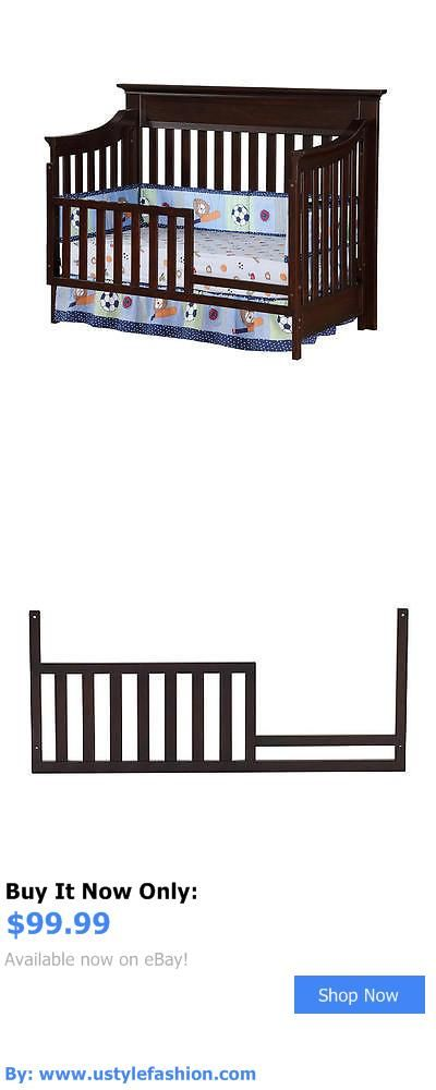 Nursery Furniture Sets: Baby Cache Covington Toddler Guard Rail - Espresso BUY IT NOW ONLY: $99.99 #ustylefashionNurseryFurnitureSets OR #ustylefashion