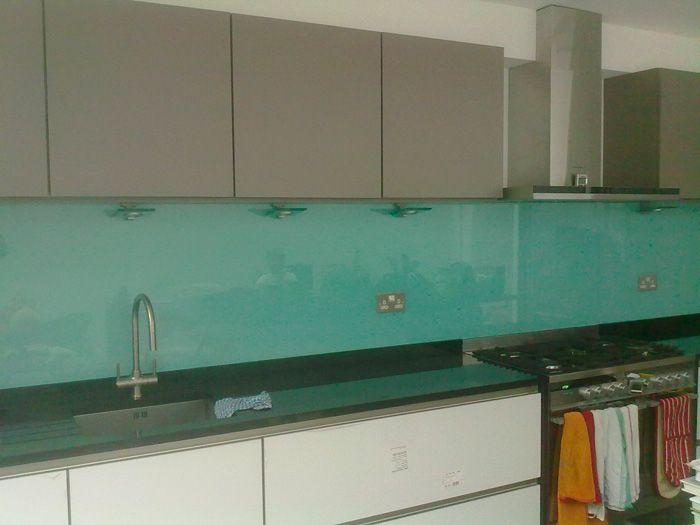 30 best splashbacks images on pinterest kitchen ideas for Cheap kitchen splashback ideas