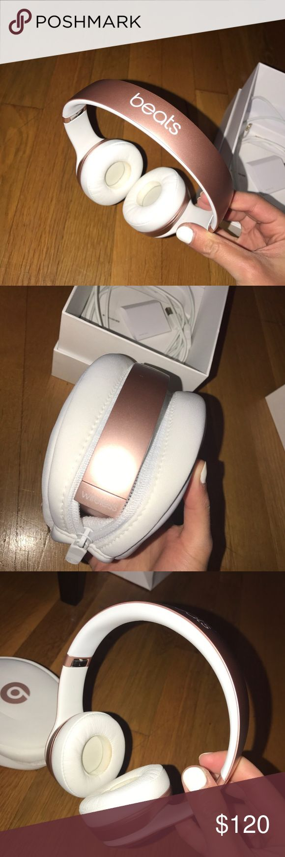 Beats solo 2 wireless rose gold Brand new ! Other
