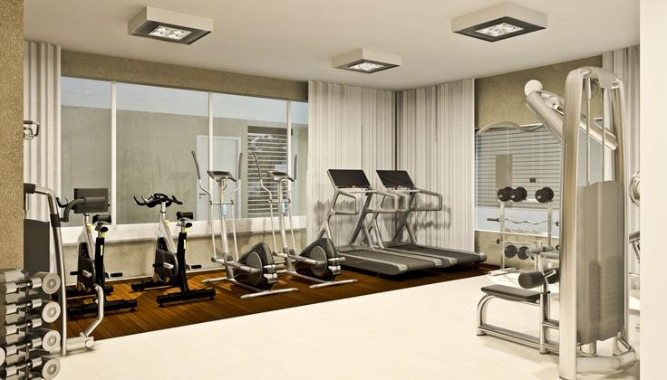Espaço Fitness - Ibiza, São José dos Pinhais - Construtora Just