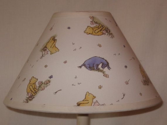 The 32 best pooh nursery images on pinterest nursery ideas baby custom childrens nursery classic winnie the pooh lampshade aloadofball Images