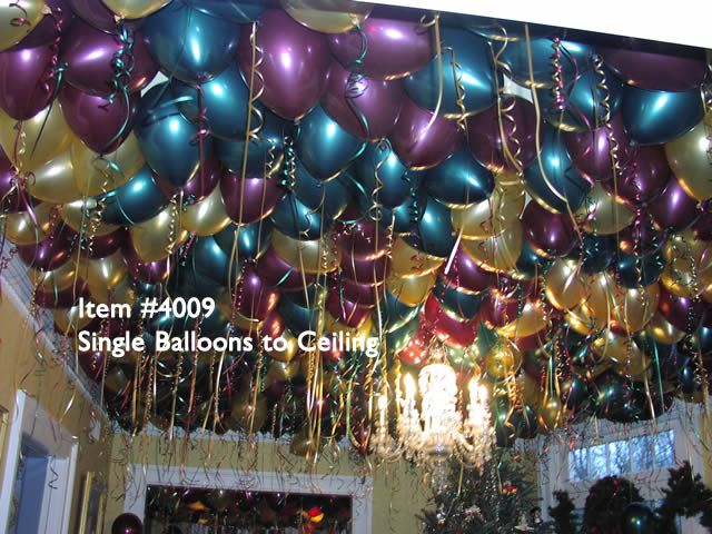 1000 images about ballondeco lusters slingers for Balloon decoration for ceiling