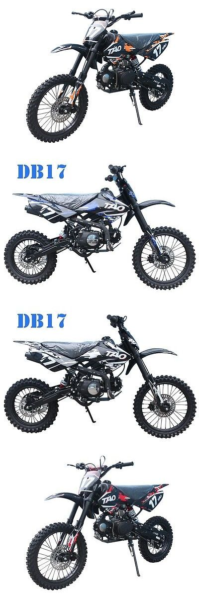 motorcycles And scooters: 2017 Other Makes Tao Motor 110 Cc Db 17 New Dirt Bike 125 Cc Motor Tao Motor Big Size With Clutch Dirt Bike Sale 125 Cc BUY IT NOW ONLY: $829.0