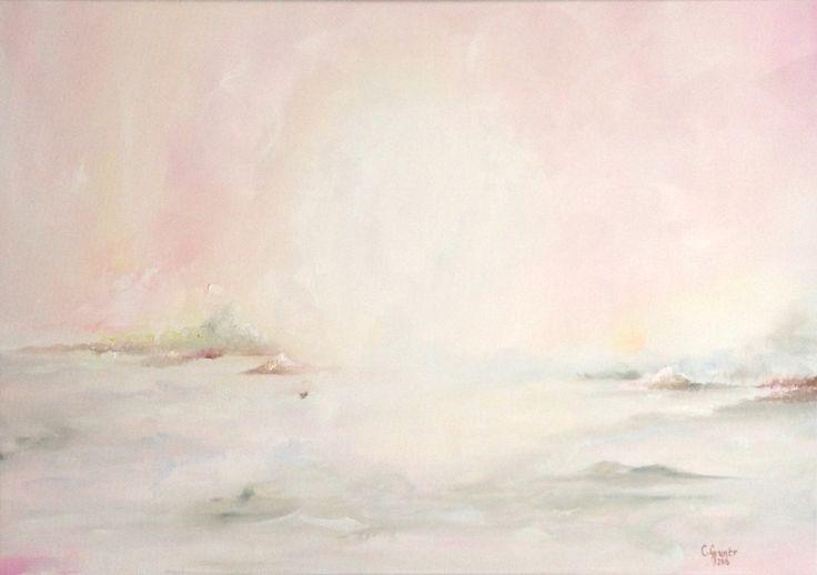 """""""Paradise"""". 70x100cm, oil on canvas. Carolina Grunér, 2015."""