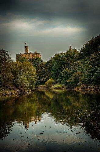 Warkworth Castle.  Northumberland