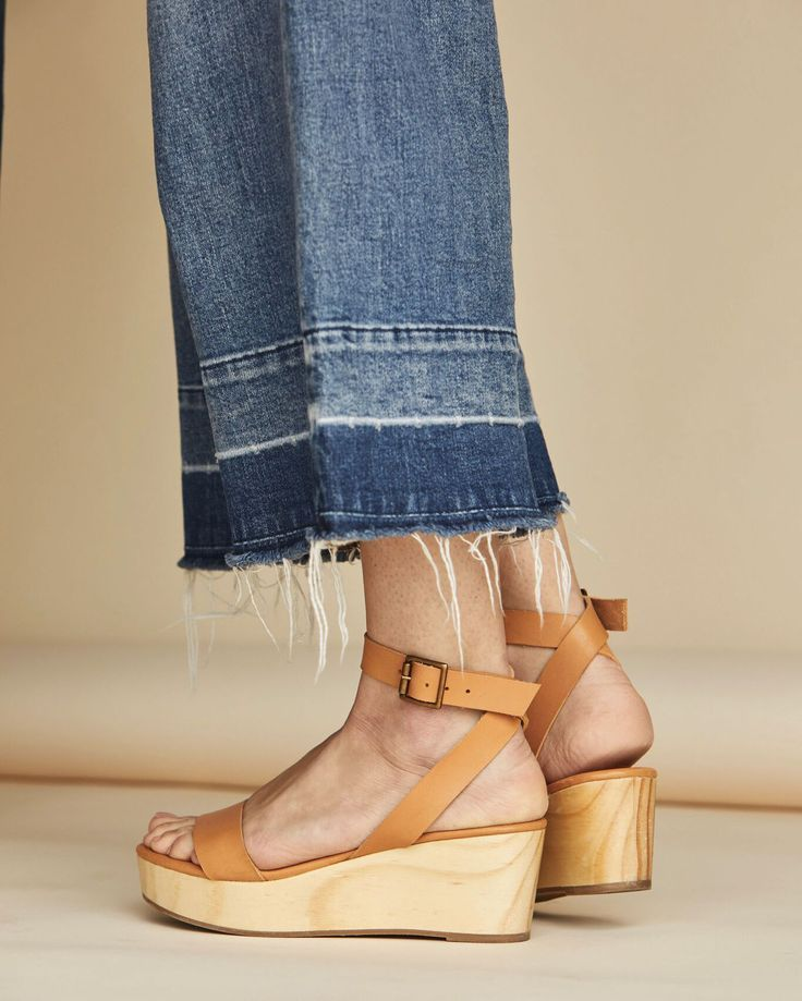 173e4a5d1f4 The Sarita Wooden Wedge will quickly become your go-to summer sandal ...