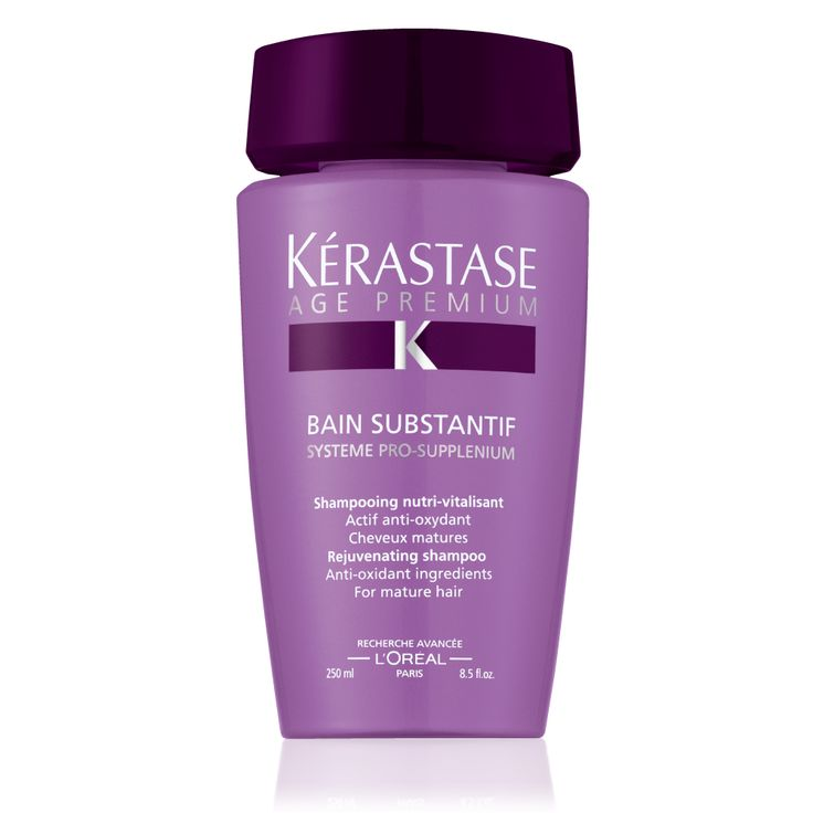 Kerastase Bain Substantif ... A rejuvenating shampoo that rebalances the scalp, while protecting and nourishing time-weakened hair.