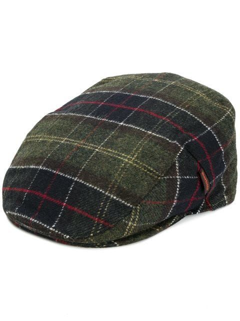bb67f6555f0 Shop Barbour checked flat cap.