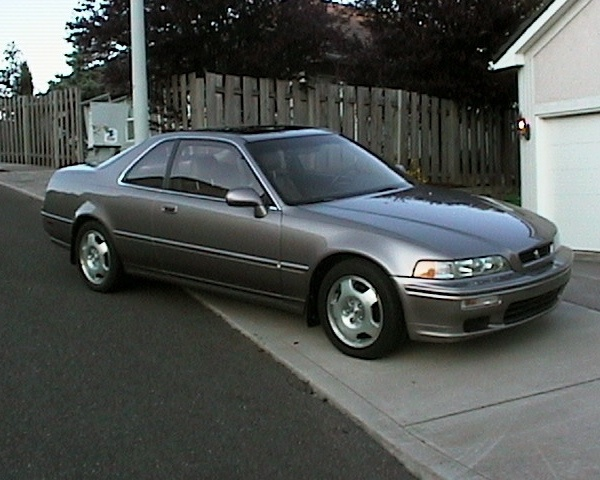 1994 acura legend coupe ls type ii engine in champagne | cars from the  70s-90s | honda legend, honda, japan motors