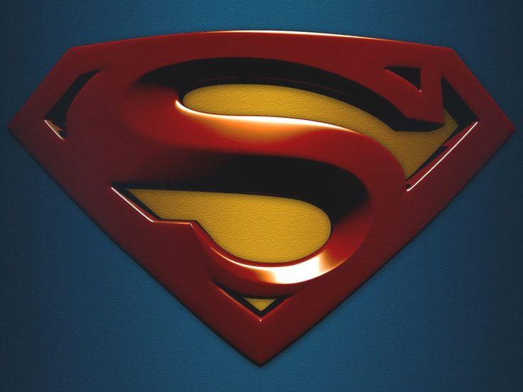 Логотип супермен схема