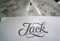 Jack tattoo on Pin...