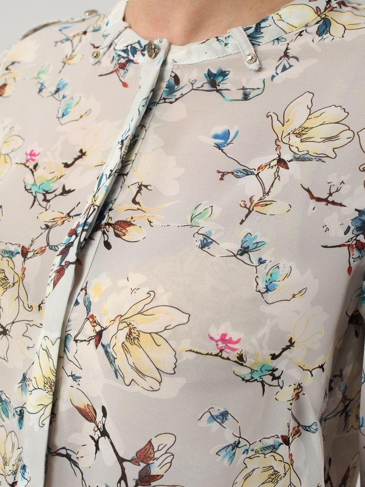Рубашка с цветочным принтом - Рубашки и блузки | LIMÉ