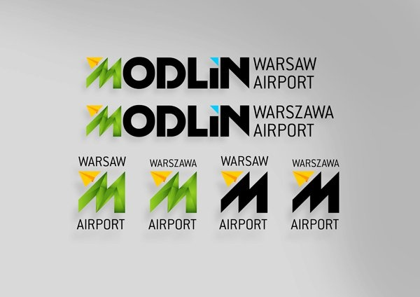 Modlin Airport  Once upon a time we recieved the invitation from the forming Modlin Airport to make some initial proposiotions of their ID - hard work, fast work... as always #id #branding #modlin #airport #lodowski #newrebel