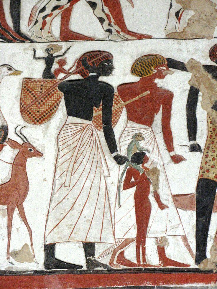Black Or White  Ancient Egyptian Art, Ancient Egypt -4333