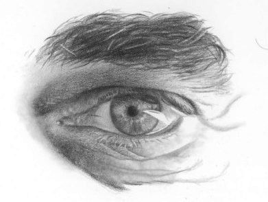Detailed tutorial on drawing realistic eyes from dueysdrawings.com
