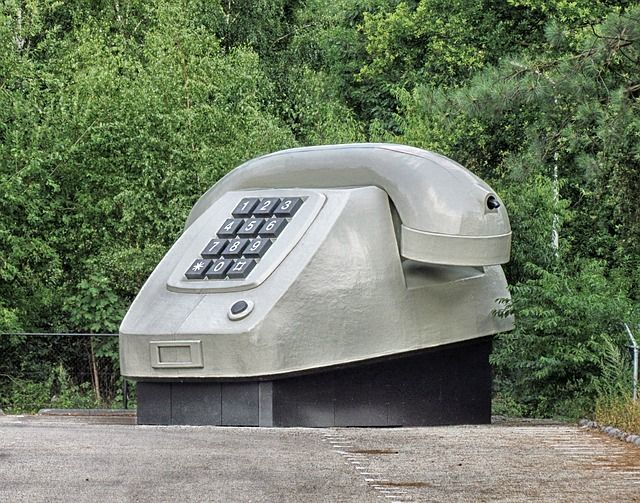 Apeldoorn, The Netherlands, Large Phone, Sculpture