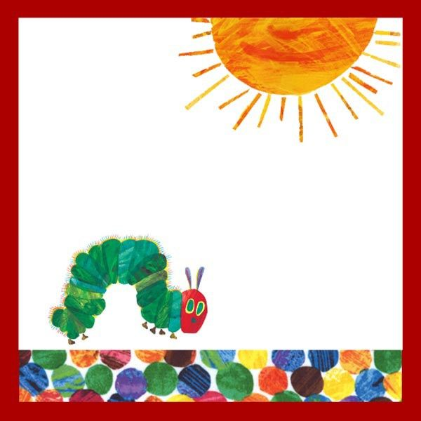 Very Hungry Caterpillar food Cards Free Printable!