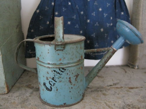 Robin's Egg Child's Watering Can