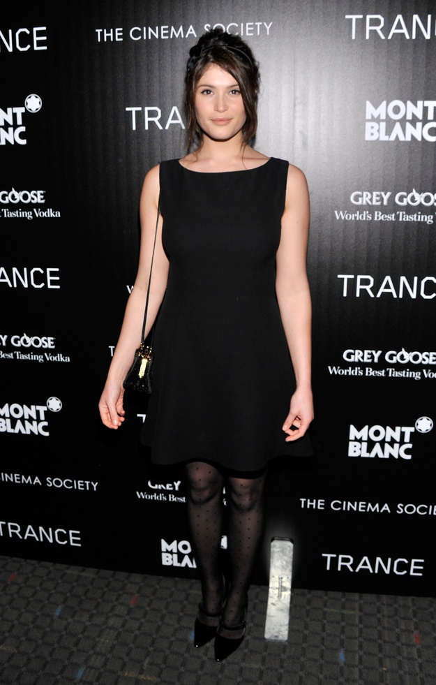"Gemma Arterton at the ""Trance""Premiere at #SVATheatre NYC on April 2, 2013"