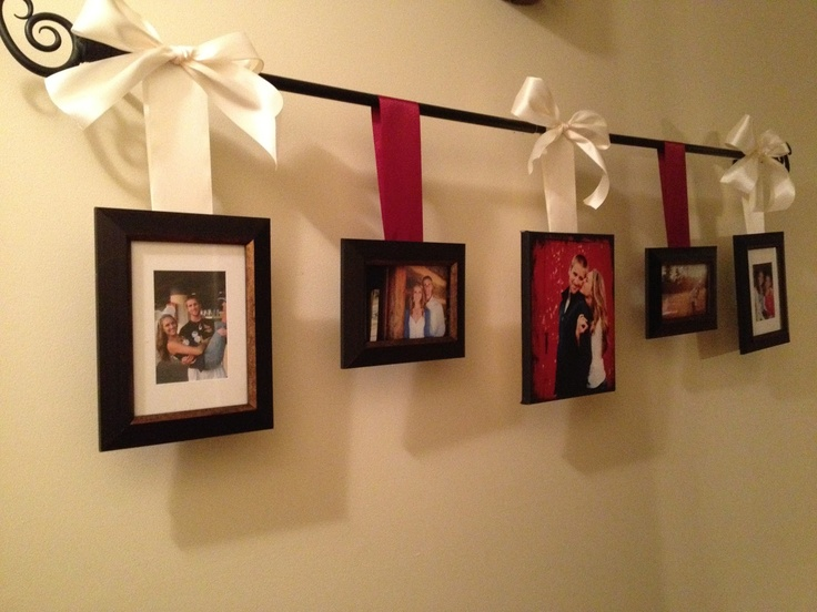 Curtain Rod Picture Hanger