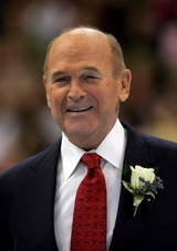 Dick Button - Two-Time Olympic Figure Skating Champion:    Dick Button won the Men's Olympic figure skating title in 1948 and in 1952. He was the first American to win an Olympic ice skating title and the only American to win two Olympic gold medals in figure skating.
