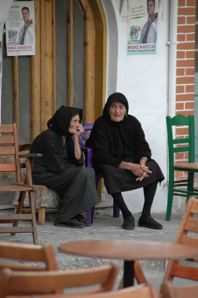 LADIES IN PYRGI