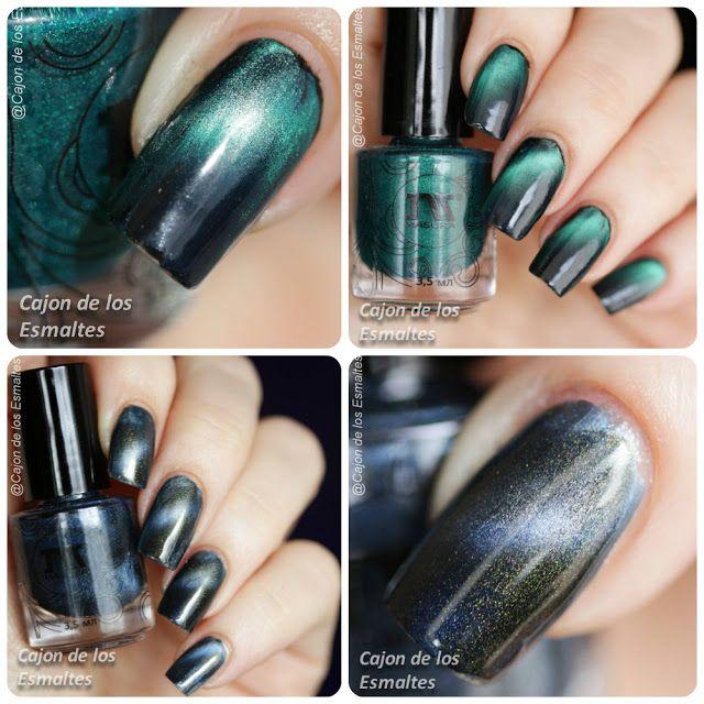 Magnetic nail polish - Masura