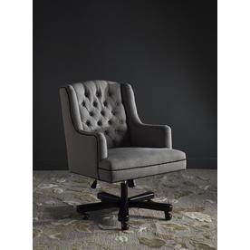 Safavieh Nichols Granite/Black Transitional Desk Chair Mcr4211a