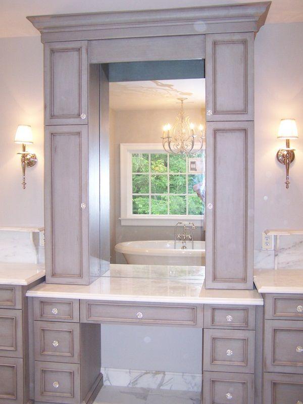 17 best ideas about bathroom makeup vanities on pinterest