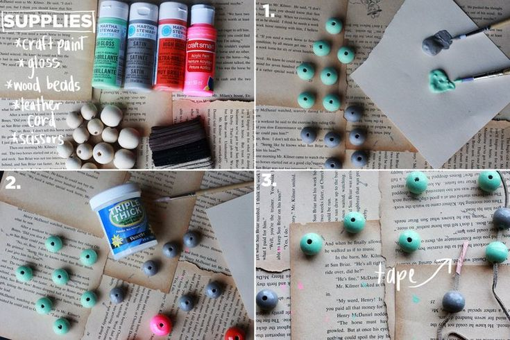 Great birthday gift or Christmas present.  This easy DIY is prefect for the kids, and you can feel proud wearing!
