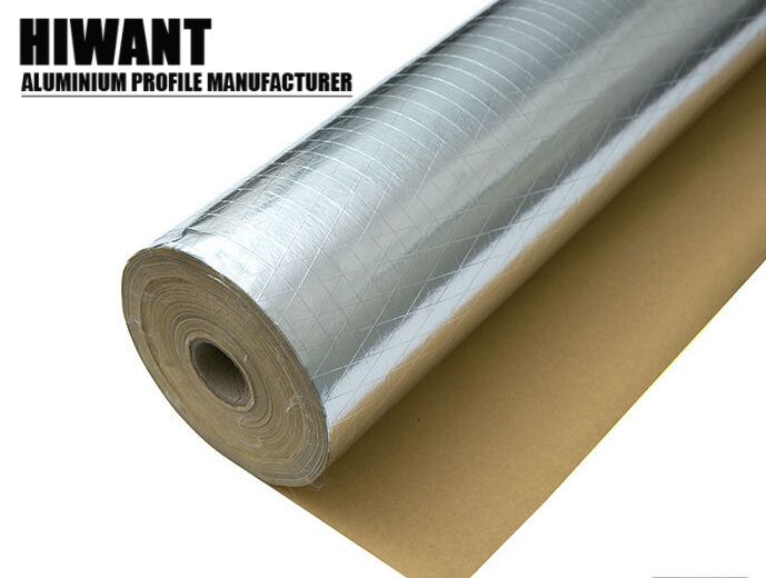 Reflective EPE Foam Foil Roofing Insulation/Fireproof Aluminium Foil Foam  Insulation/Foil Backed Foam