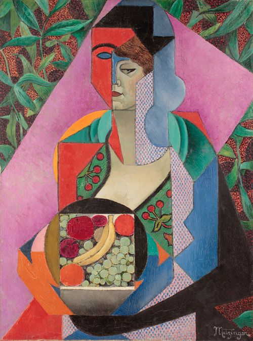 'Summer' (1916) by Jean Metzinger. Cubism, Puteaux Group, Neo-Impressionism, Fauvism, Divisionism