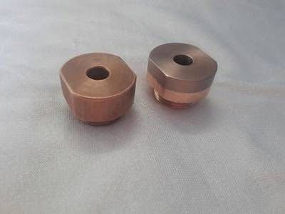Resistance welding consumables - Weldparts - Elkonite electrodes for projection welding.