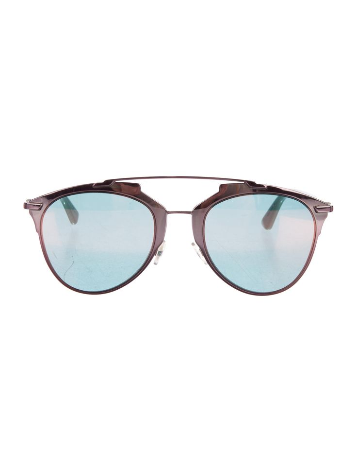 Metallic Reflected Sunglasses