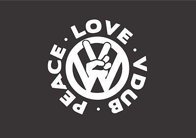 Peace. Love. VDub