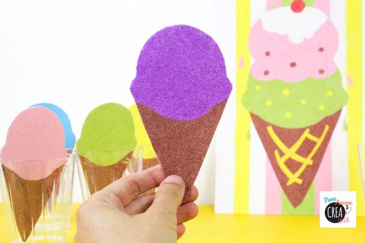 Giochi fai da te: la gelateria